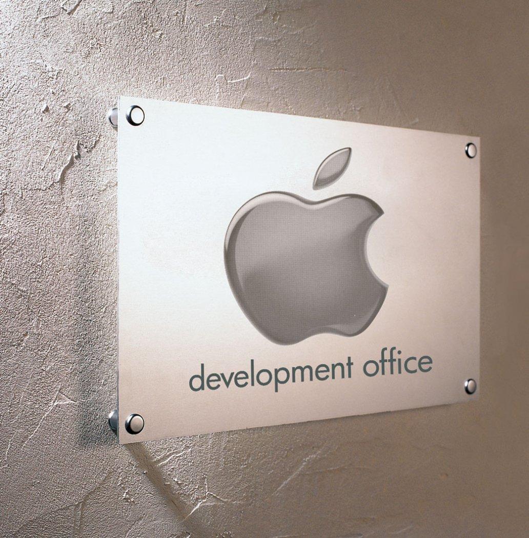 Apple paneel inox