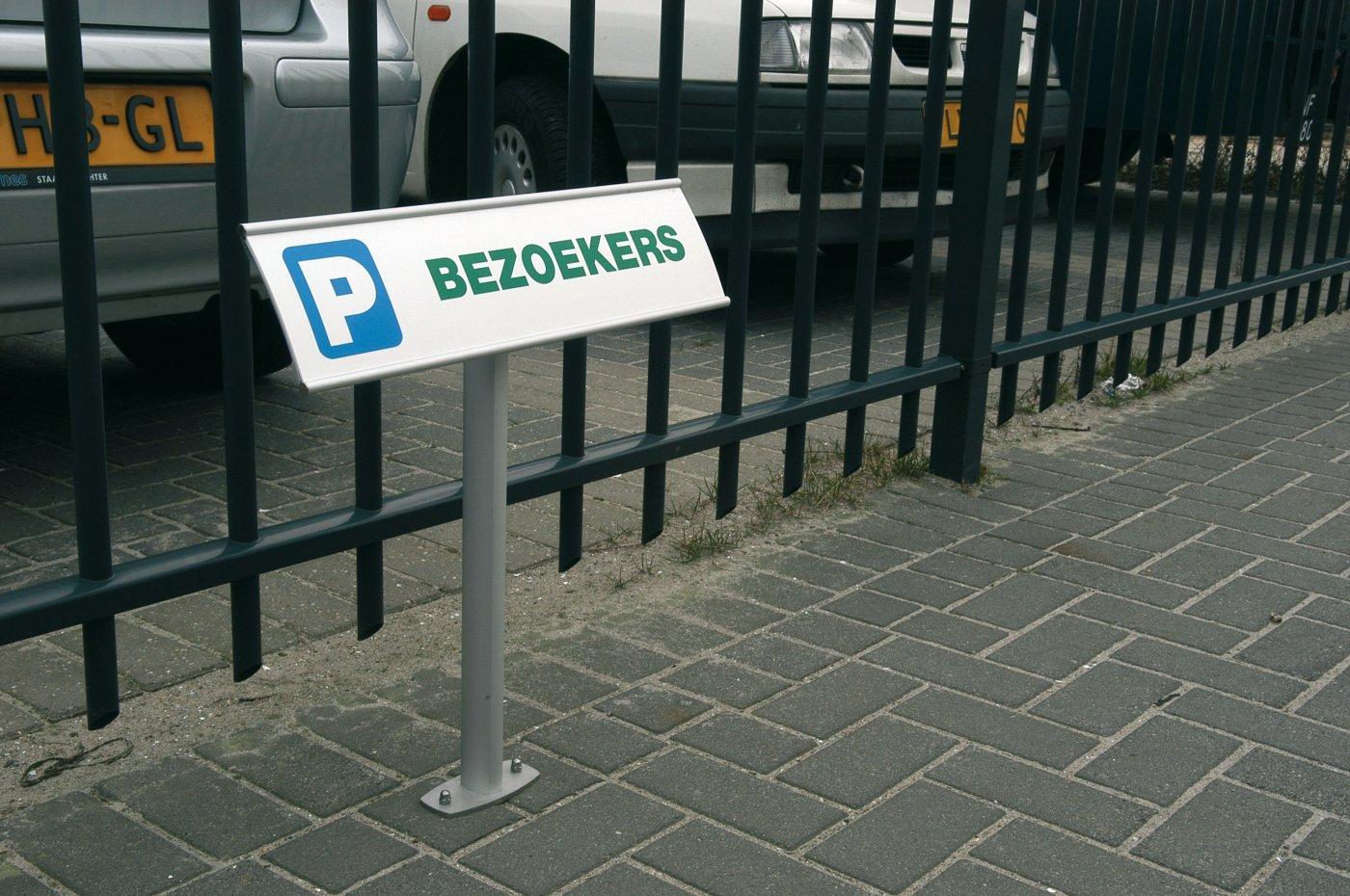Parkeerborje vrijstaand